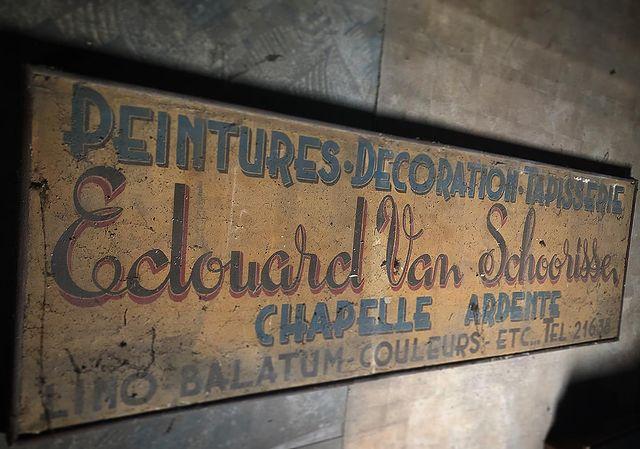 Edouard Van Schoorisse bord 1938